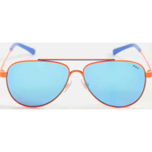 (取寄)ポロ ラルフローレン 0PH3126-サングラス Polo Ralph Lauren 0PH3126-Sunglasses ShinyFluoOrange ElectricBlu