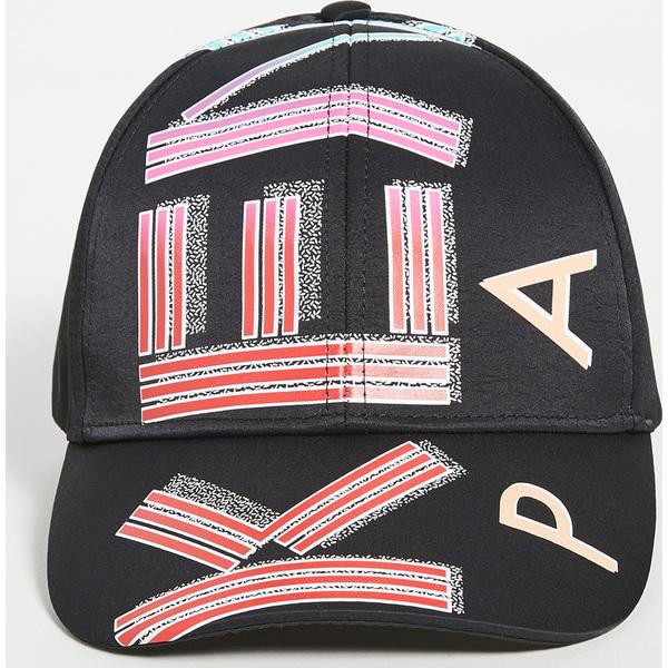 【エントリーでポイント5倍】(取寄)ケンゾー ナイロン キャップ ウィズ スポーツ ロゴ KENZO Nylon Cap with Sports Logo Black