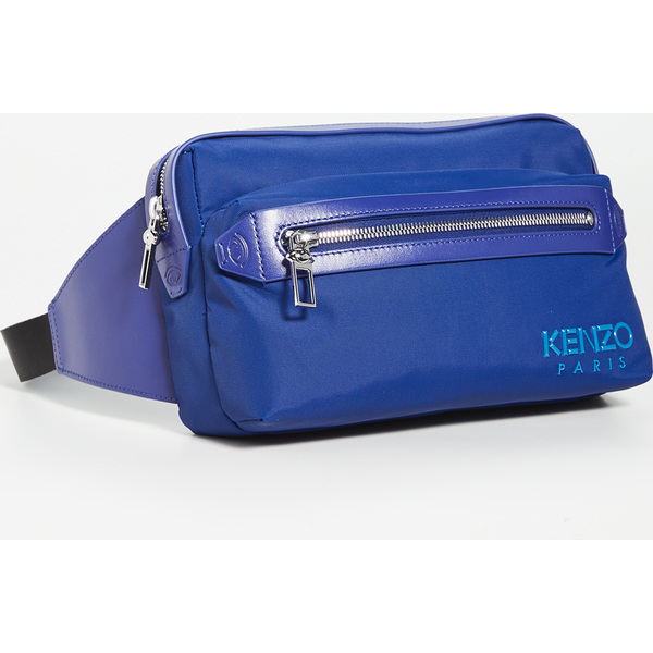 【エントリーでポイント5倍】(取寄)ケンゾー ナイロン ベルト バッグ KENZO Nylon Belt Bag NavyBlue