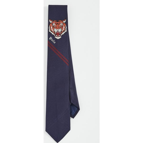 【エントリーでポイント5倍】(取寄)ポロ ラルフローレン タイガー ヘッド パネル タイ Polo Ralph Lauren Tiger Head Panel Tie Navy