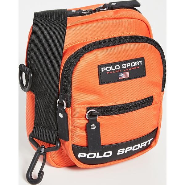 (取寄)ポロ ラルフローレン ポロ スポーツ クロスボディ バッグ Polo Ralph Lauren Polo Sport Crossbody Bag Orange