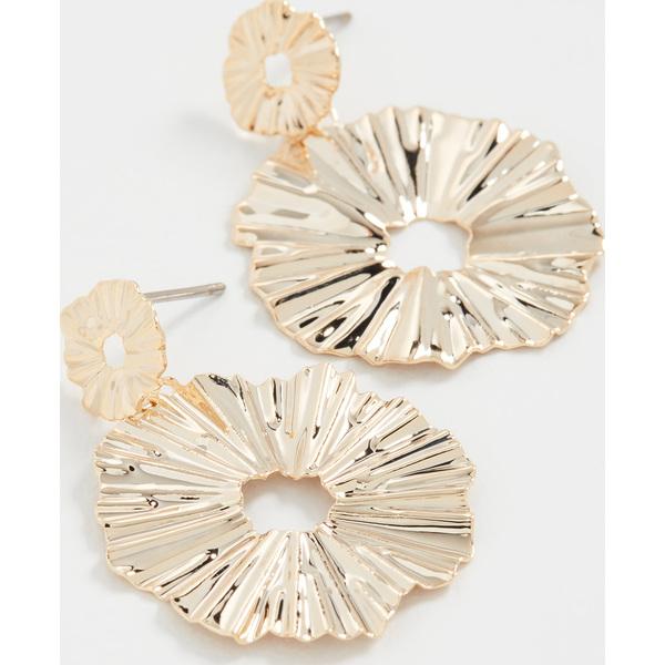 【クーポンで最大2000円OFF】(取寄)シャシ ジャドール ピアス ゴールド Shashi J'adore Earrings Gold
