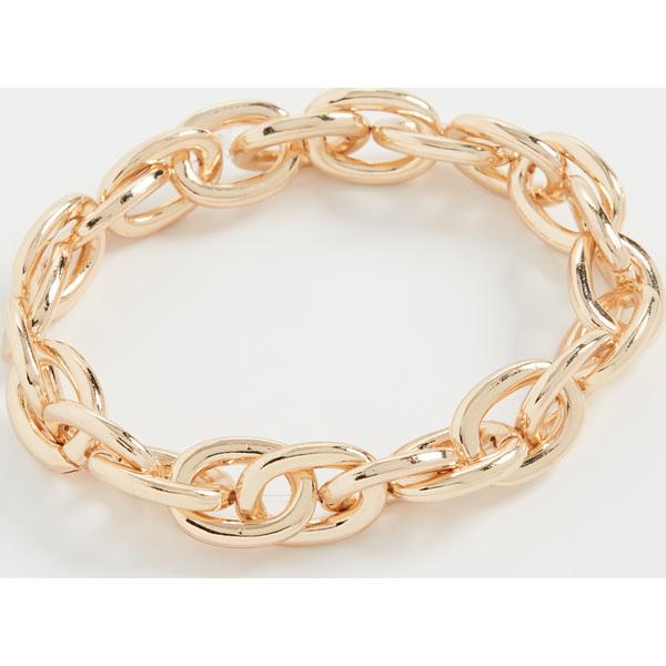 【クーポンで最大2000円OFF】(取寄)シャシ チェイン オブ コマンド ブレスレット Shashi Chain of Command Bracelet Gold