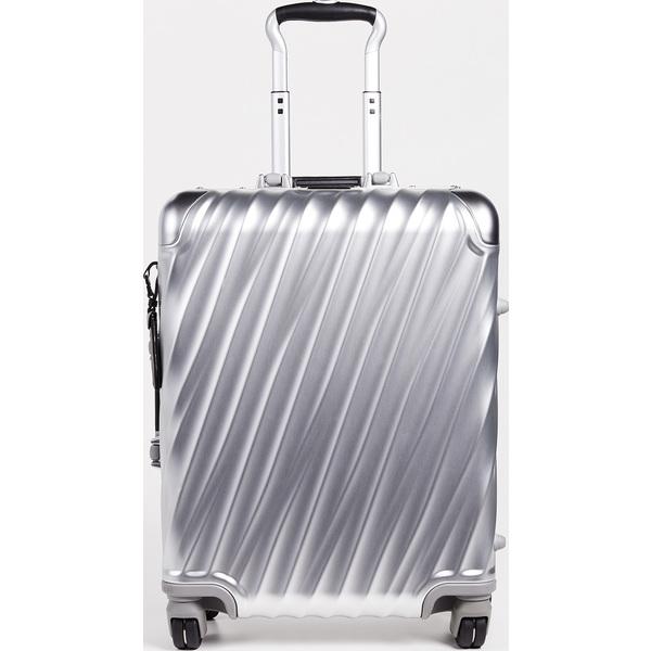 (取寄)トゥミ 19 ディグリー アルミニウム コンチネンタル キャリー オン スーツケース Tumi 19 Degree Aluminum Continental Carry On Suitcase Silver