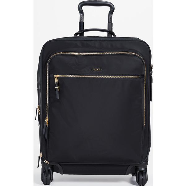 (取寄)トゥミ ボヤジュール トレス レジェ インターナショナル キャリー オン バッグ Tumi Voyageur Tres Leger International Carry On Bag Black