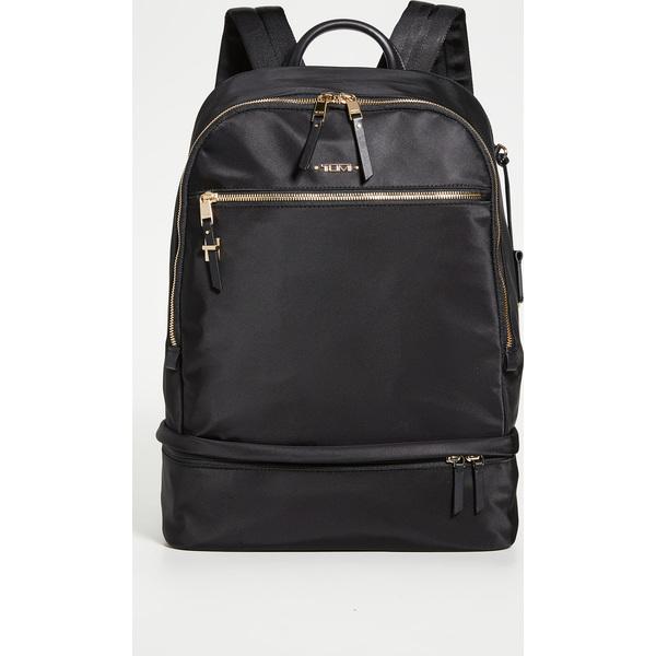 【エントリーでポイント5倍】(取寄)トゥミ レディース ブルックリン バックパック Tumi Women's Brooklyn Backpack Black
