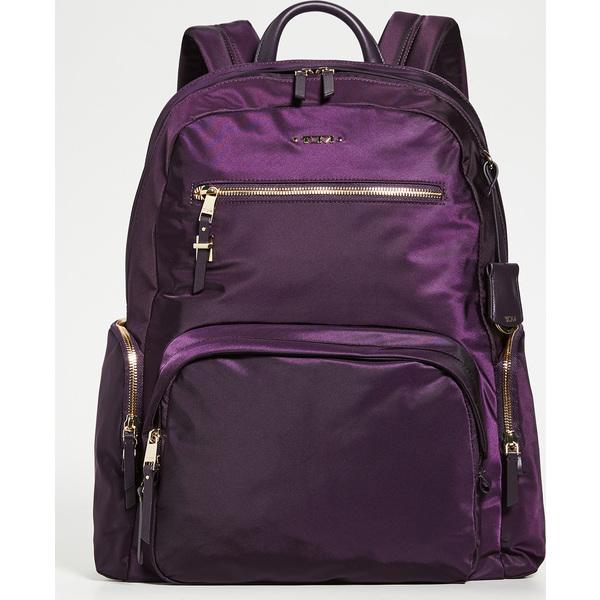【エントリーでポイント5倍】(取寄)トゥミ レディース カーソン バックパック Tumi Women's Carson Backpack Blackberry