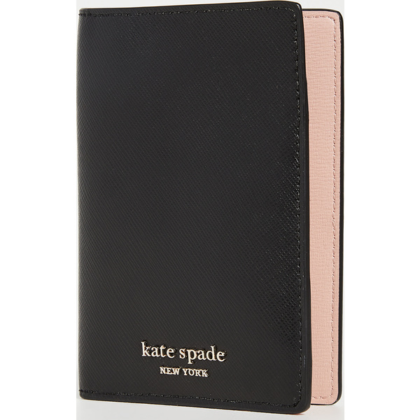 (取寄)ケイトスペード スペンサー パスポート ケース Kate Spade New York Spencer Passport Case Black