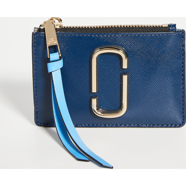 (取寄)マークジェイコブス スナップショット トップ ジップ マルチ ウォレット The Marc Jacobs Snapshot Top Zip Multi Wallet NewBlueSeaMulti