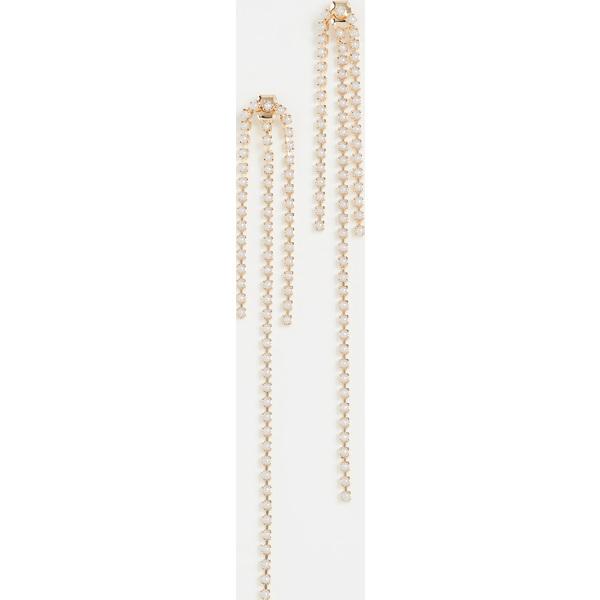【クーポンで最大2000円OFF】(取寄)シャシ ブルーム ピアス Shashi Vroom Earrings Gold