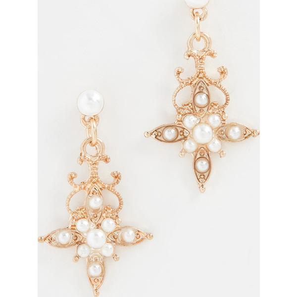 【エントリーでポイント5倍】(取寄)シャシ カサブランカ ピアス Shashi Casablanca Earrings Gold