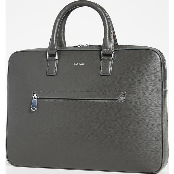 (取寄)ポールスミス スリム フォリオ バッグ Paul Smith Slim Folio Bag Grey