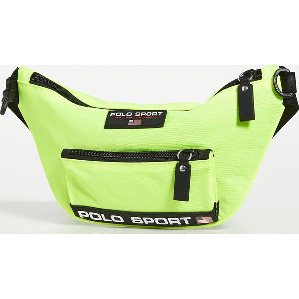 (取寄)ポロ ラルフローレン ポロ スポーツ ナイロン ウエストパック Polo Ralph Lauren Polo Sport Nylon Waistpack NeonYellow