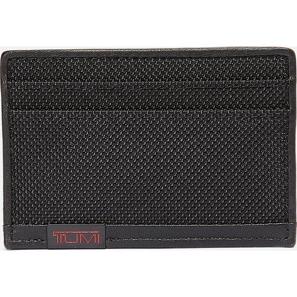 (取寄)トゥミ アルファ アルファ スリム カード ケース Tumi Alpha Slim Card Case Black