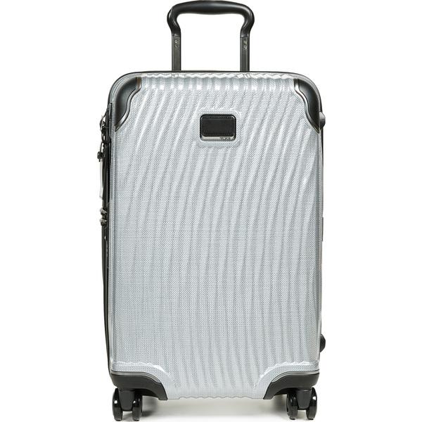 (取寄)トゥミ ラティテュード インターナショナル インターナショナル キャリー オン スーツケース Tumi Latitude International Carry On Suitcase Silver
