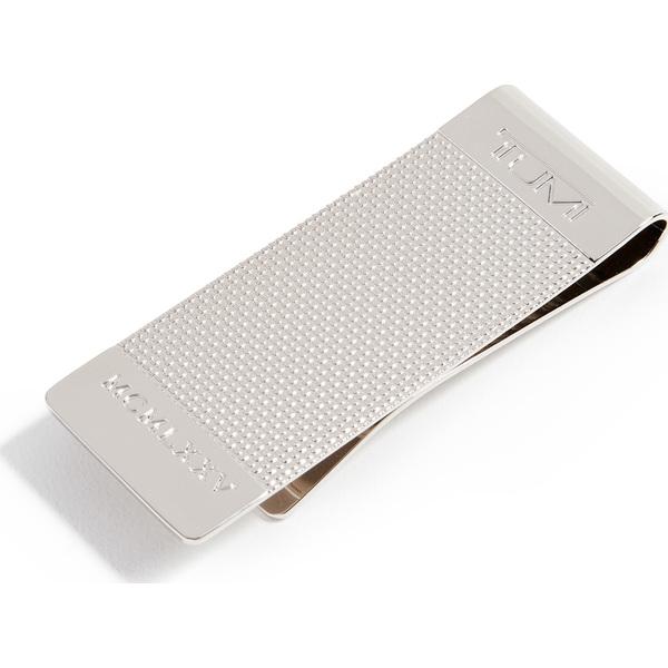 (取寄)トゥミ ナッソー バリスティック エッチド マネー クリップ Tumi Nassau Ballistic Etched Money Clip Silver