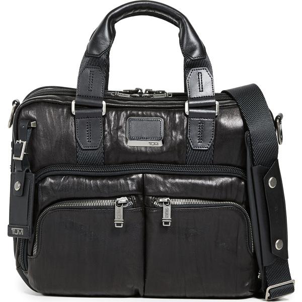 (取寄)トゥミ アルファ アルファ ブラボー ブラボー オールバニ スリム コミューター ブリーフケース Tumi Alpha Bravo Albany Slim Commuter Briefcase Black