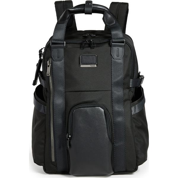 (取寄)トゥミ アルファ アルファ ブラボー ブラボー キングス バックパック リュック バッグ トート Tumi Alpha Bravo Kings Backpack Tote Black