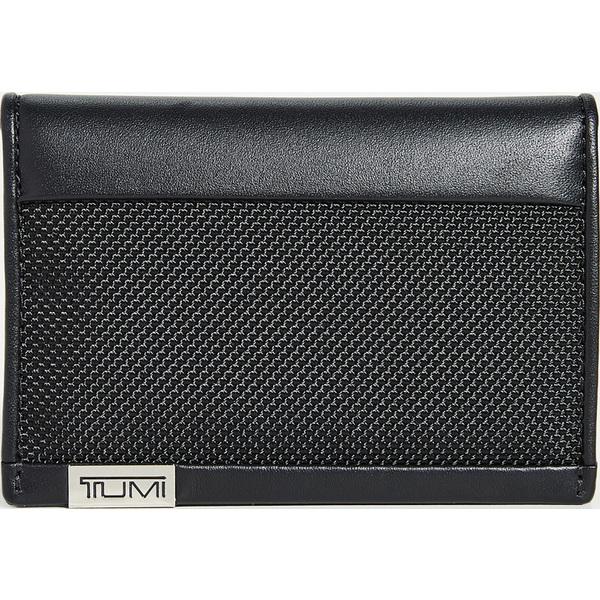 【エントリーでポイント5倍】(取寄)トゥミ アルファ アルファ マルチ ウィンドウ ウィンドウ カード ケース Tumi Alpha Multi Window Card Case BlackChrome