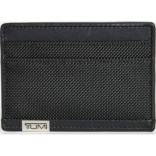 (取寄)トゥミ アルファ アルファ スリム カード ケース Tumi Alpha Slim Card Case BlackChrome