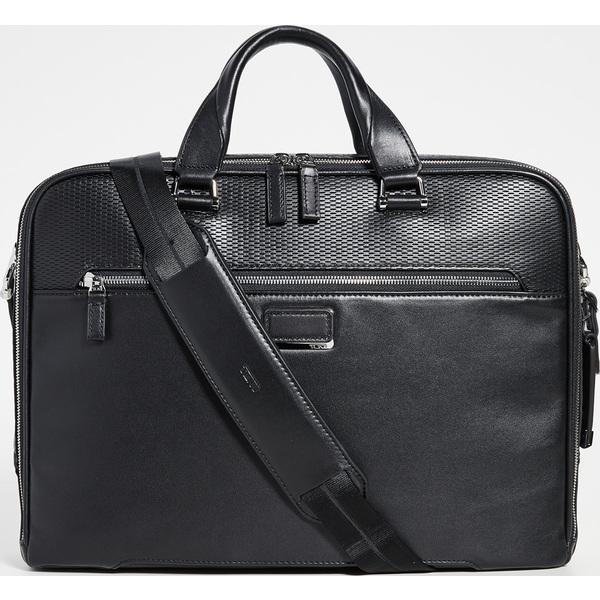 (取寄)トゥミ アシュトン ギブソン スリム ブリーフケース Tumi Ashton Gibson Slim Briefcase BlackPerforated