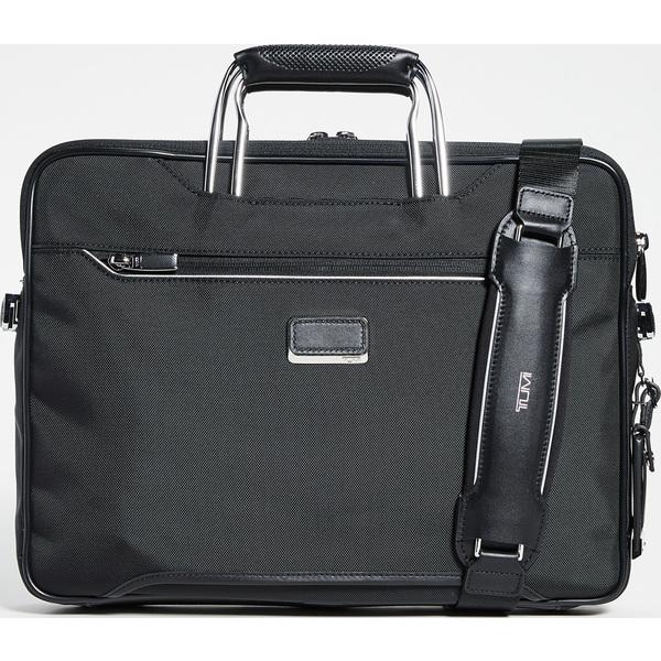 (取寄)トゥミ アライブ ハノーファー スリム ブリーフケース Tumi Arriv Hannover Slim Briefcase Black