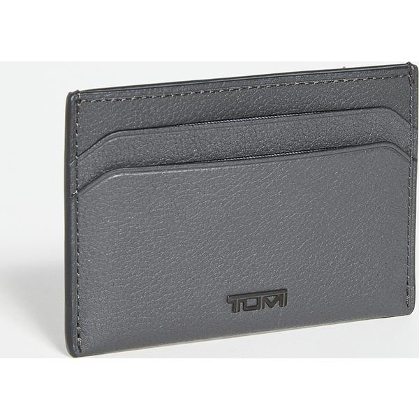 (取寄)トゥミ ナッソー SLG スリム カード ケース Tumi Nassau SLG Slim Card Case GreyTexture