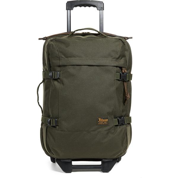 (取寄)フィルソン ドライデン 2 ホイール キャリー オン スーツケース FILSON Dryden 2 Wheel Carry On Suitcase OtterGreen