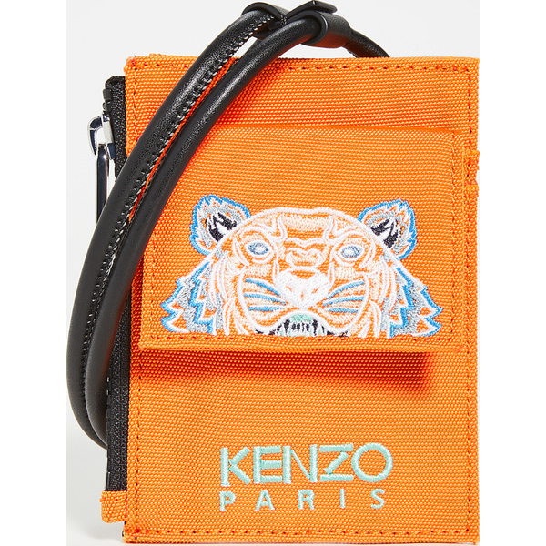 【エントリーでポイント5倍】(取寄)ケンゾー カードホルダー オン ストラップ KENZO Cardholder On Strap MediumOrange