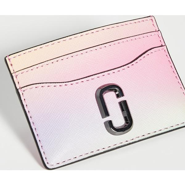 (取寄)マークジェイコブス スナップショット エアブラシ カード ケース The Marc Jacobs Snapshot Airbrushed Card Case White