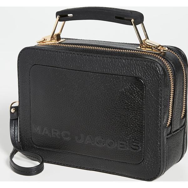 (取寄)マークジェイコブス ザ ボックス 20 バッグ The Marc Jacobs The Box 20 Bag Black