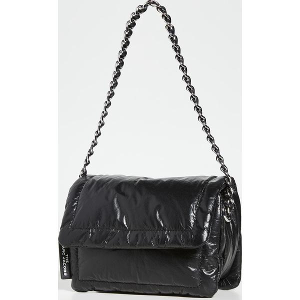 (取寄)マークジェイコブス ミニ ピロー バッグ The Marc Jacobs Mini Pillow Bag Black