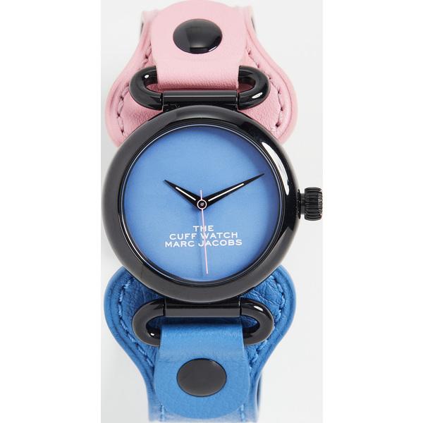 【クーポンで最大2000円OFF】(取寄)マークジェイコブス ザ カフ ウォッチ 36mm The Marc Jacobs The Cuff Watch 36mm Pink Blue