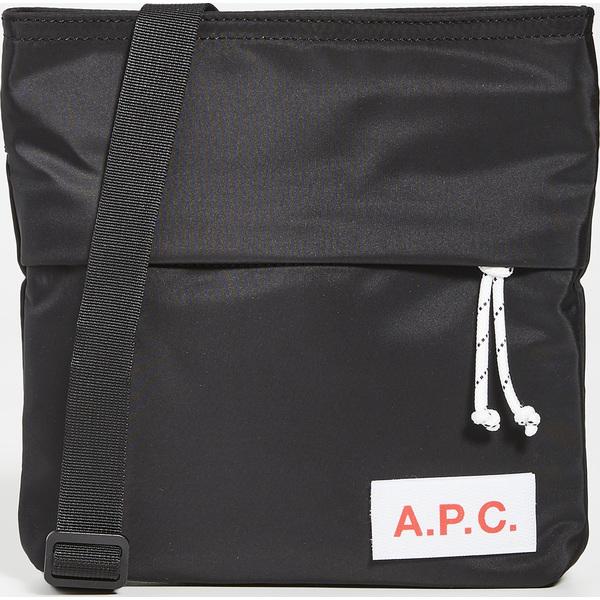 【エントリーでポイント5倍】A.P.C. ショルダーバッグ アーペーセー バッグ ユニセックス プロテクション メッセンジャーバッグ ブラック 2L ブランド APC Protection Messenger Bag BlackMulticolor
