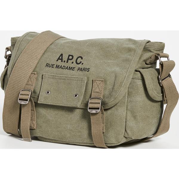 【エントリーでポイント5倍】(取寄)アーペーセー ブザス ショルダー バッグ A.P.C. Besace Shoulder Bag Khaki