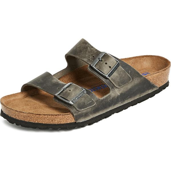 (取寄)ビルケンシュトック アリゾナ SFB サンダル Birkenstock Arizona SFB Sandals Iron