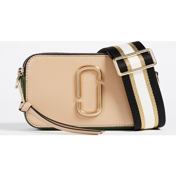 【エントリーでポイント5倍】(取寄)マークジェイコブス スナップショット クロスボディ バッグ The Marc Jacobs Snapshot Crossbody Bag SandcastleMulti