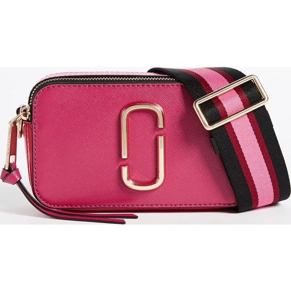 (取寄)マークジェイコブス スナップショット クロスボディ バッグ The Marc Jacobs Snapshot Crossbody Bag HibiscusMulti