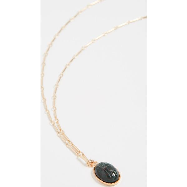 【クーポンで最大2000円OFF】(取寄)シャシ カイロ ネックレス Shashi Kairo Necklace Green