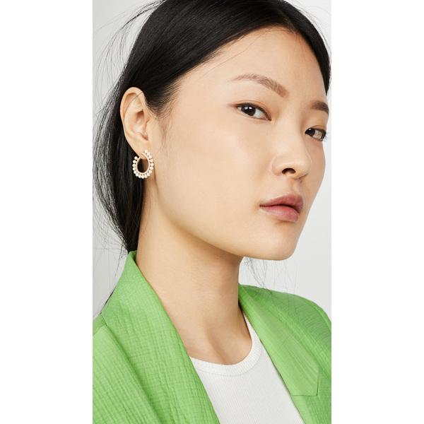 【クーポンで最大2000円OFF】(取寄)シャシ レガシー ピアス Shashi Legacy Earrings Gold