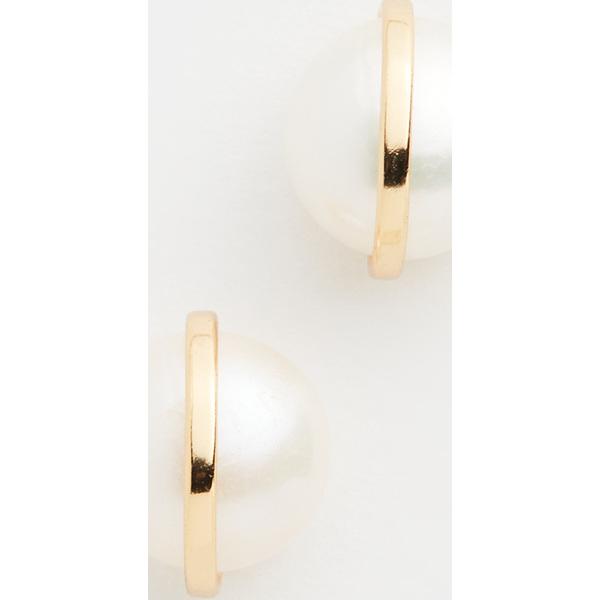 【クーポンで最大2000円OFF】(取寄)シャシ エッセンシャル ピアス Shashi Essential Earrings Gold Pearl