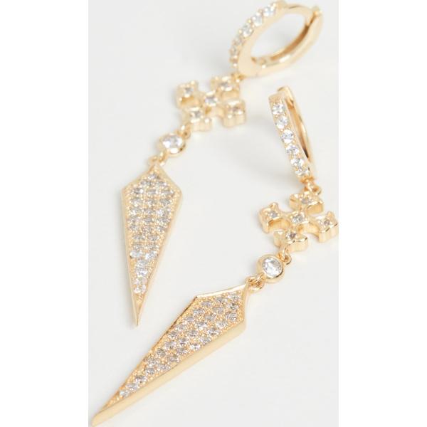 【クーポンで最大2000円OFF】(取寄)シャシ ギア ピアス Shashi Gia Earrings Gold