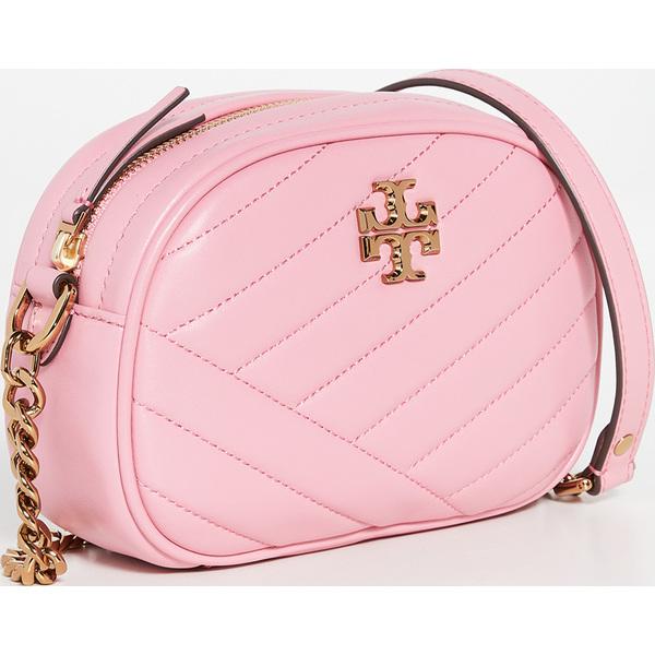 【エントリーでポイント5倍】(取寄)トリーバーチ キラ シェブロン クロスボディ バッグ Tory Burch Kira Chevron Crossbody Bag PinkCity