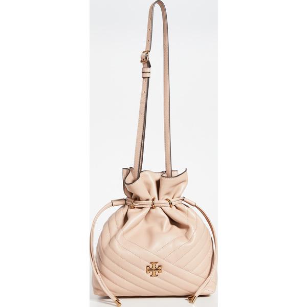 (取寄)トリーバーチ キラ シェブロン バケット バッグ Tory Burch Kira Chevron Bucket Bag DevonSand