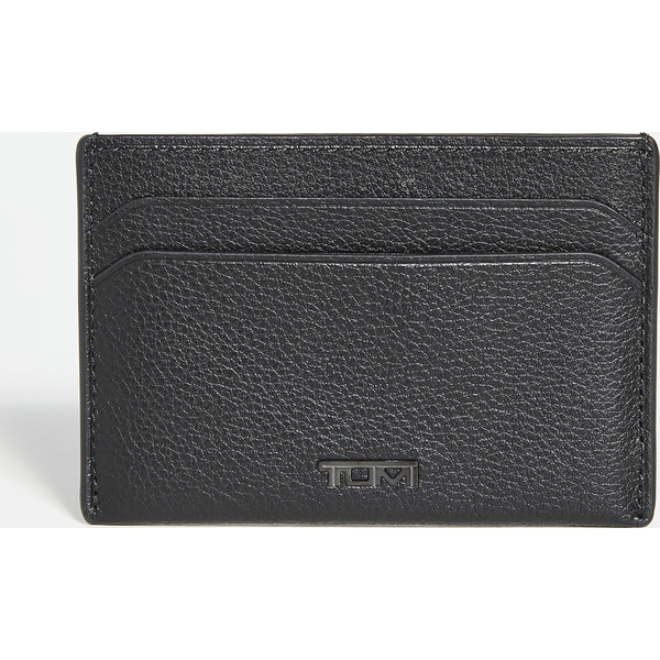 (取寄)トゥミ ナッソー SLG スリム カード ケース Tumi Nassau SLG Slim Card Case BlackTexture