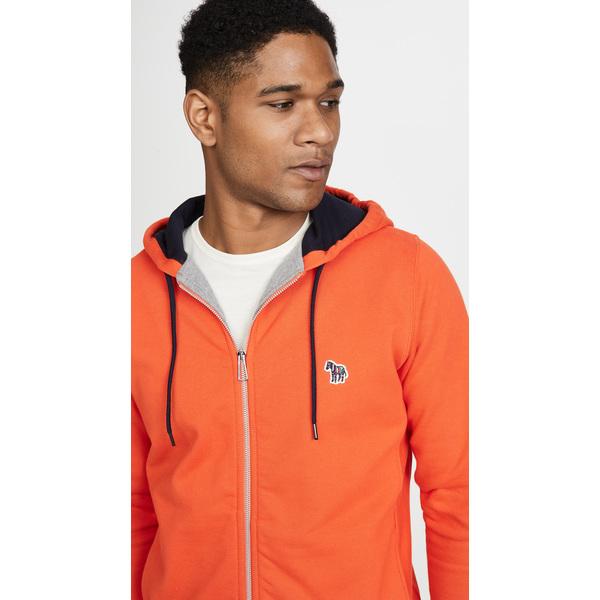(取寄)ピーエス ポールスミス レギュラー フィット ジップ フーディ PS Paul Smith Regular Fit Zip Hoodie Orange