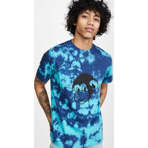 (取寄)ピーエス ポールスミス タイ ダイ モンキー Tシャツ PS Paul Smith Tie Dye Monkey T-Shirt Blue