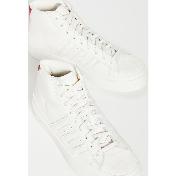 (取寄)アディダス メンズ x 424 プロモデル 80's ハイ トップ スニーカー adidas Men's x 424 Promodel 80's High Top Sneakers ChalkWhite ChalkWhite