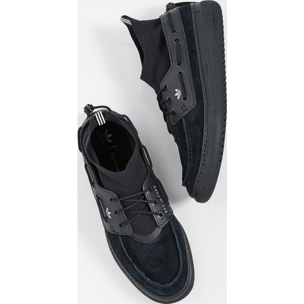 (取寄)アディダス メンズ x ベッド J.W. フォード コルシカ BF スニーカー adidas Men's x BED J.W. FORD Korsika BF Sneakers CoreBlack SilverMetallic