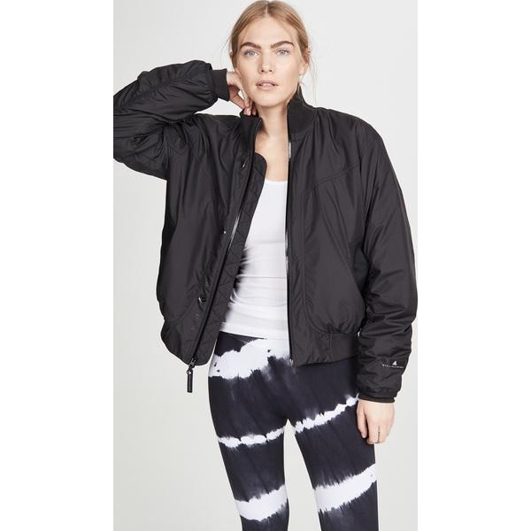 (取寄)アディダス バイ ステラ マッカートニー レディース ボンバー ジャケット adidas by Stella McCartney Women's Bomber Jacket Black